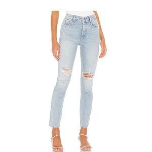 GRLFRND Karolina ripped jeans denim